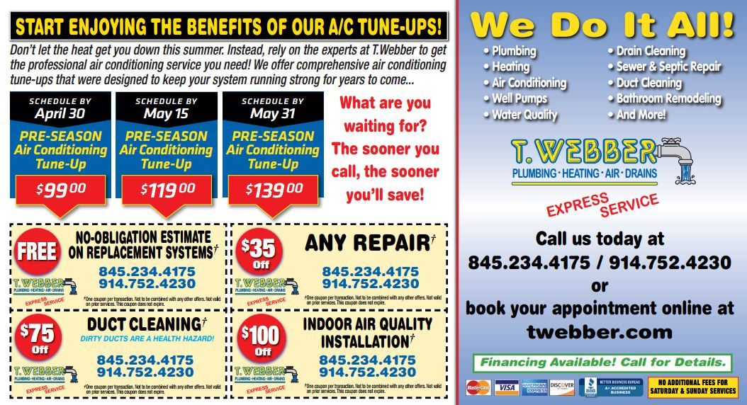 Pre-Season AC Tune-Up Special